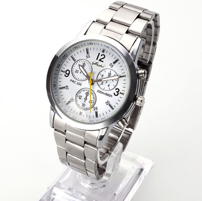 Женские наручные часы Geneva Silver White