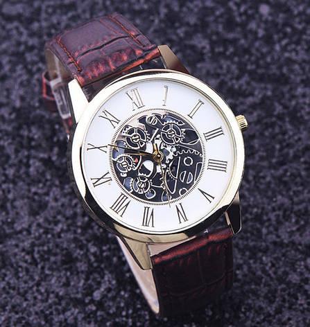 Часы мужские наручные Skeleton, фото 2