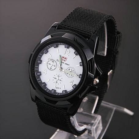 Черные армейские часы Gemius Army, фото 2