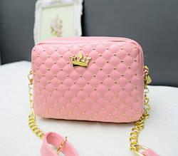 Жіноча сумочка рожева