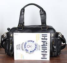 Шкіряна чоловіча сумка (ПУ шкіра), фото 3