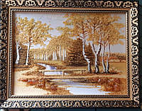 "Картина из янтаря ""Осень"""
