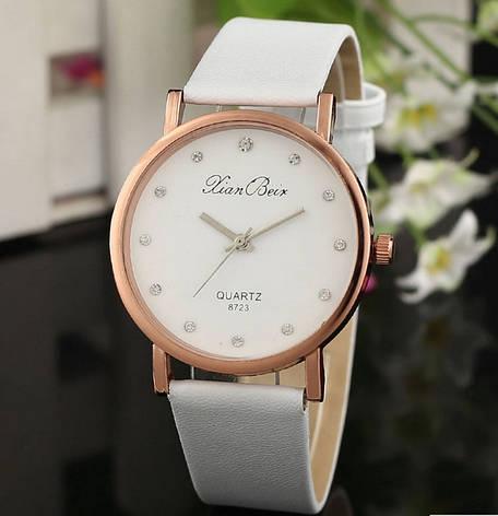 Белые женские часы Geneva, фото 2