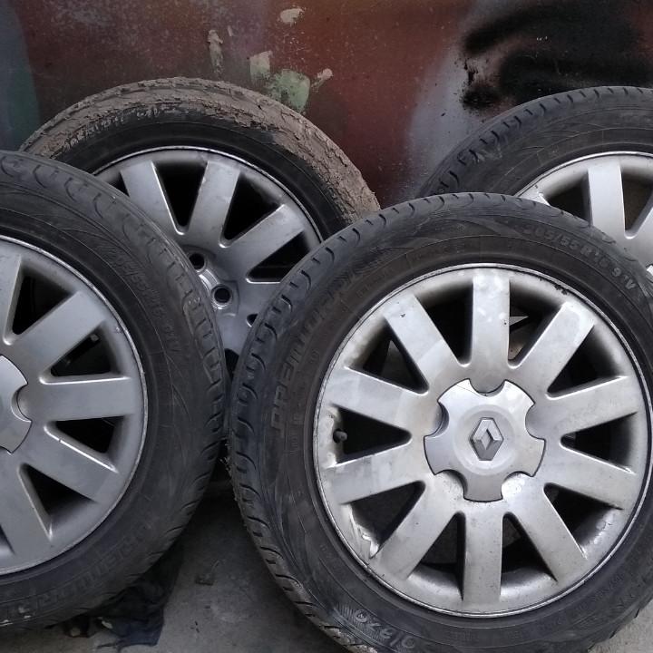 Б/У Диски R16 Renault оригинал + резина