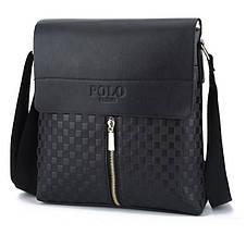 Чоловіча сумка планшет через плечі Polo, фото 2