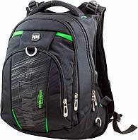 Рюкзак молодежный городской Winner Stile  с яркими вставками и USB портом