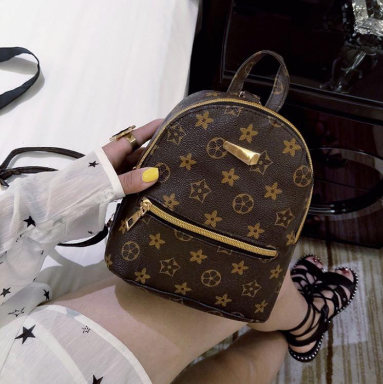 Маленький женский рюкзак louis vuitton