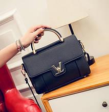 Маленькая женская мини сумка клатч через плечо LV Луи Витон