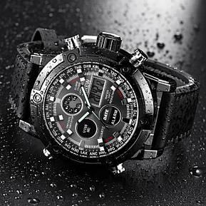 Армейские мужские часы черные, фото 2