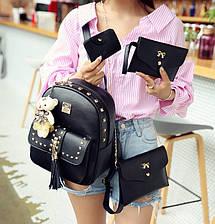 Женский рюкзак сумочка кошелек визитница, фото 2