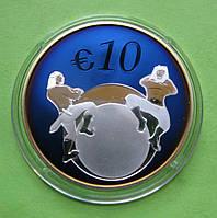 Эстония 10 евро 2011 г. Будущее Эстонии