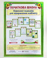 Комплект плакатів для початкової школи