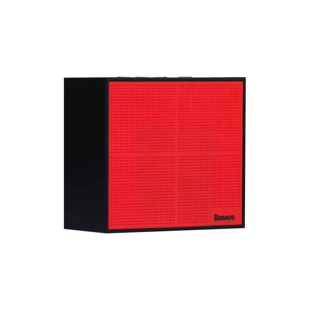 Портативная колонка Baseus |Encok E05 Music-cube Черный / Красный (NGE05-91)
