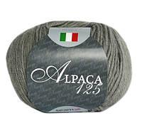 Пряжа Сеам Альпака 125 Серый