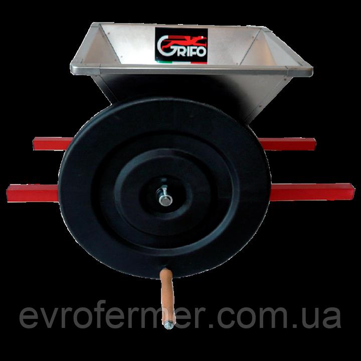 Дробилка для винограда Grifo, нержавеющая сталь
