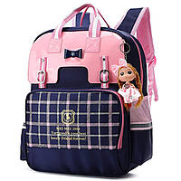 Школьный рюкзак для девочки Стиль Британия British Style Girls Backpacks