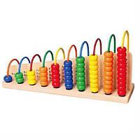 """Развивающая игрушка для детей от 3 лет - набор для обучения Viga Toys """"Учимся считать"""""""