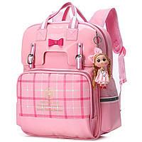 Школьный рюкзак для девочки Стиль Британия British Style Girls Backpacks , фото 1