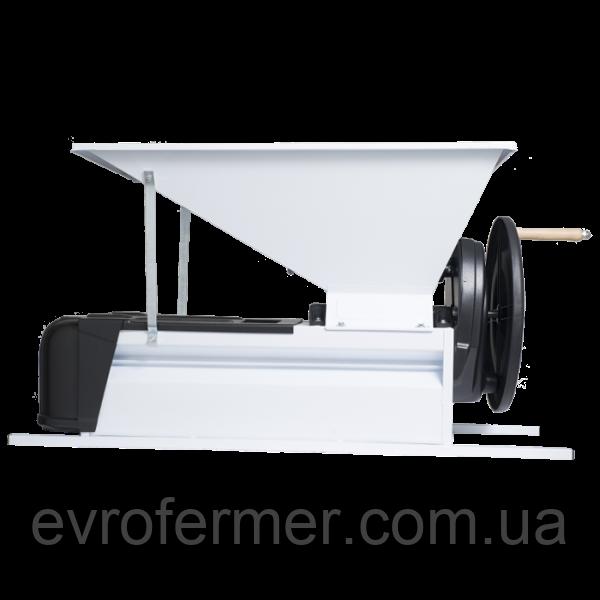 Дробилка для винограда Grifo с гребнеотделителем, эмалированная сталь