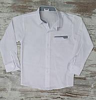 Детская школьная рубашка-трансформер, для мальчиков 7-10 лет, Турция, оптом