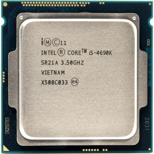 Процессор Intel Core i5-4690K 3.5GHz/5GT/s/6MB (BX80646I54690K) s1150 Tray Б/У