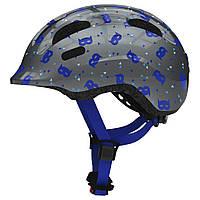 Велосипедний дитячий шолом ABUS SMILEY 2.1 M Blue Mask 818035, КОД: 1082251