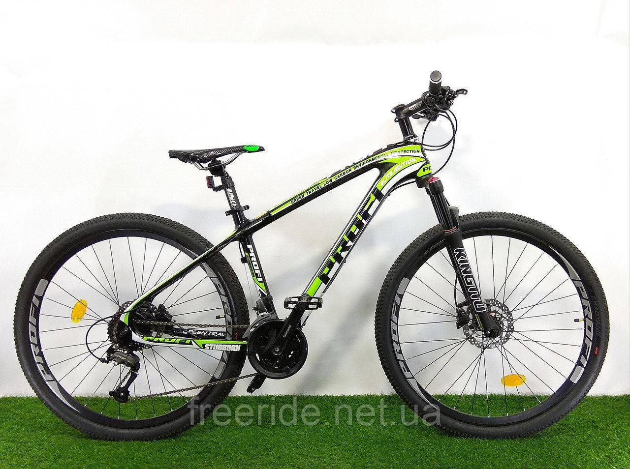 """Карбоновый Велосипед Profi EB275 Stubborn 27,5"""" Carbon (гидравлика) 17рама"""