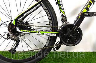 "Карбоновый Велосипед Profi EB275 Stubborn 27,5"" Carbon (гидравлика) 17рама, фото 2"
