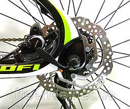 "Карбоновый Велосипед Profi EB275 Stubborn 27,5"" Carbon (гидравлика) 17рама, фото 3"