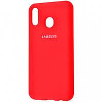 Оригинальный чехол для Samsung A20 / A30 (A205F / A305F), красный
