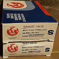 Клапаны ВАЗ 2101,2102,2103,2104,2105,2106,2107 (впуск,выпуск 8шт.) SM