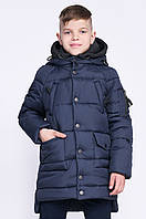 Зимняя куртка для мальчика DT-8290-2, р-ры 110,116