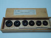 Набор зенковок с т/п для ремонта седел клапанов двигателей  СМД-14