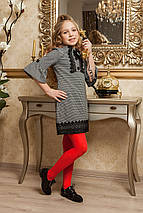 Элегантное школьное платье для девочки KR-8, фото 3