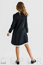 Комфортное школьное  платье  на девочку , фото 2