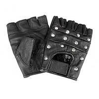 Перчатки тактические STURM (Германия). кожаные с железной заостренной шиповкой.