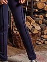 Брюки модные с завышенной талией со стрелками размеры 152, фото 2