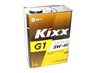 Масло моторное KIXX синтетика G1 5W40 4л