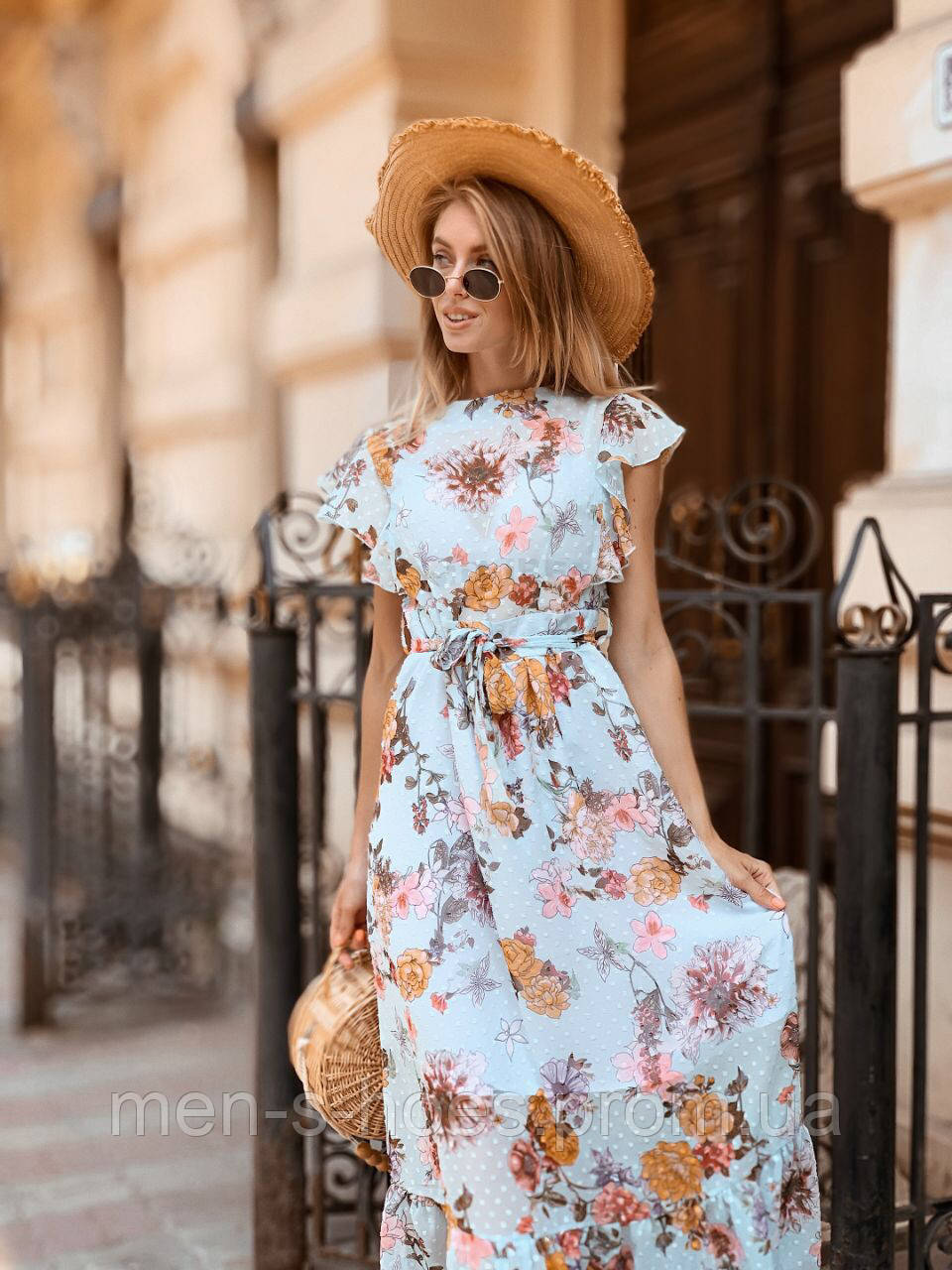 Легкое летнее платье 42 - 44 две расцветки