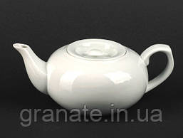 Чайник заварочный 500 мл белый фарфор
