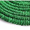 Садовый шланг для полива Magic Hose 37,5 м с распылителем Зеленый, фото 4