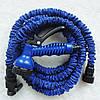 Усиленный садовый шланг для полива XHose 45м. с распылителем Magic Hose Синий, фото 2