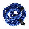 Усиленный садовый шланг для полива XHose 45м. с распылителем Magic Hose Синий, фото 4