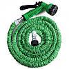 Усиленный садовый шланг для полива XHose 45м. с распылителем Magic Hose Зеленый , фото 2