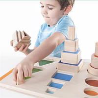 Развивающая игрушка для детей от 2 лет - набор для обучения Формы и пространство