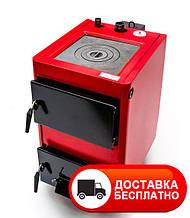 Твердотопливный котел Проскуров АОТВ 14-К с плитой