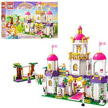 Конструктор Замок принцессы Qman 2610,фигурки, качель, 587дет