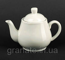 Чайник заварочный 700 мл белый фарфор