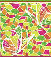 Яркое разноцветное  парео-платок