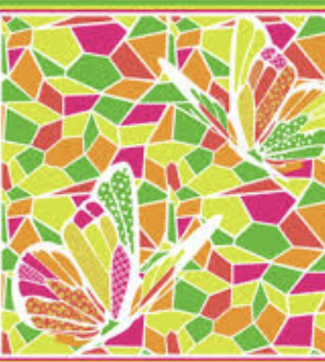 Яркое разноцветное большое  парео-платок  150 см